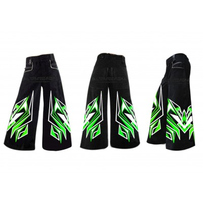 ..Project 16  - Phat pants green white