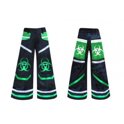 .Phat pants Biostyle Green with free suspenders