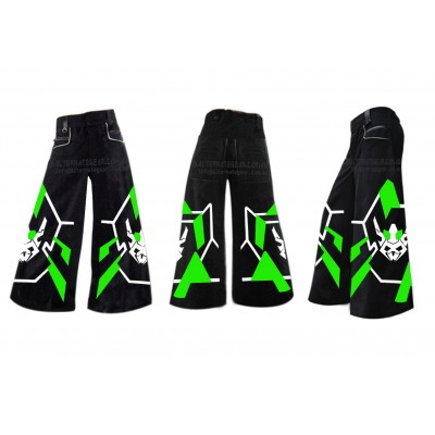 ...Skulls green - Phat pants