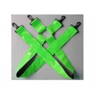 Suspenders xtra wide Green