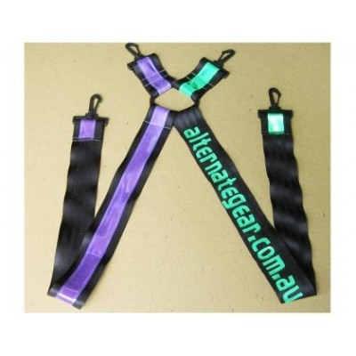 Personalised suspenders 20 letters limit SAMPLE PHOTO