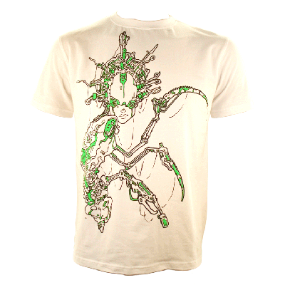 Alien fusion white - Large