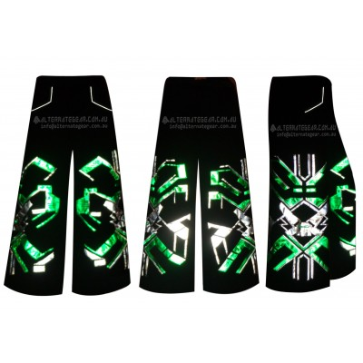 Greenn - Phat pants with free matching suspenders