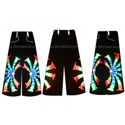 Psy phat pants waist 40-42 inches and length 40.5 inches