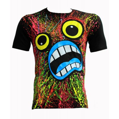 C-ouch Scream T-shirt Black
