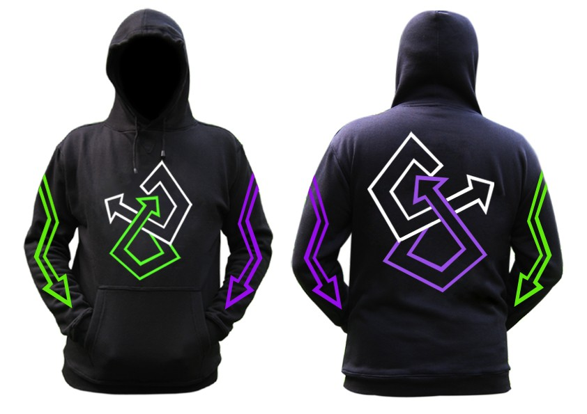 Strappy Retra hoodie