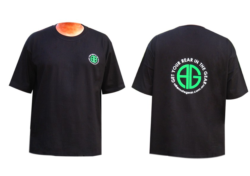 T shirt - AG logo black
