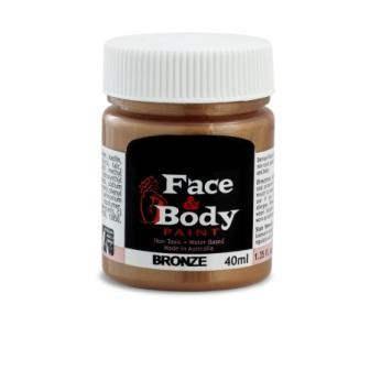 Face & Body paint bronze 40ml