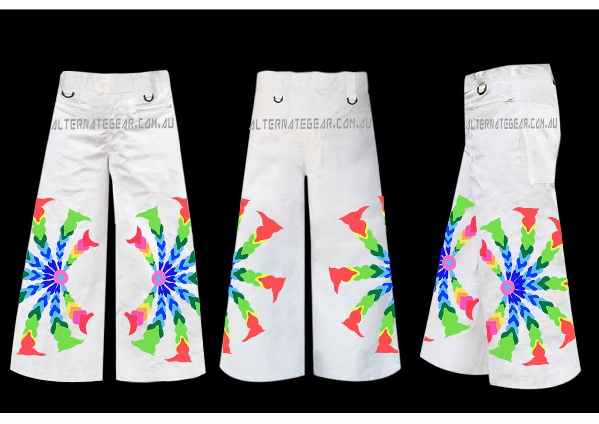 Phat pants white psy